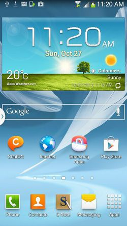 Galaxy Note 2 jelly bean