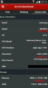 Galaxy Note 4 fuite 1