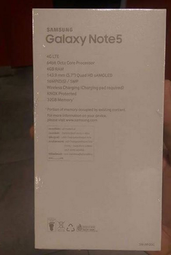 Galaxy Note 5 packaging 02