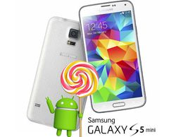 Galaxy S5 mini Android Lollipop