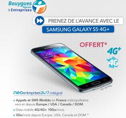 Galaxy S5 offert