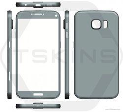 Galaxy S7 rendu