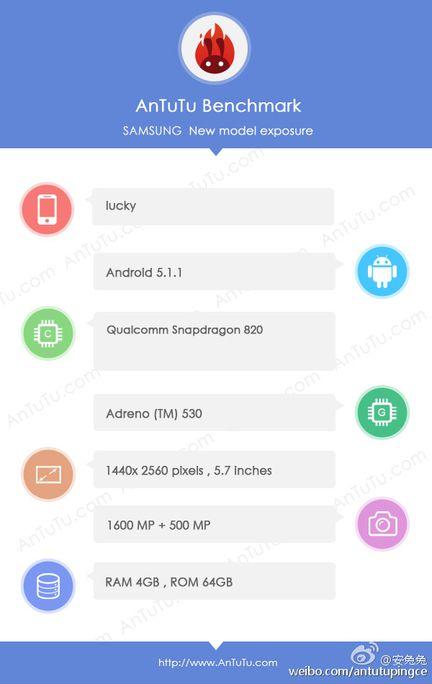 Galaxy S7 SnapDragon 820 AnTuTu