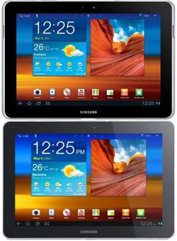 Galaxy Tab comparaison