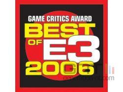 Game critics awards 2006 small