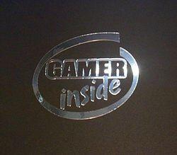 Gamer inside