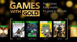 Games With Gold - juillet 2015