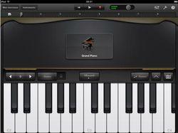GarageBand pour iPad 01