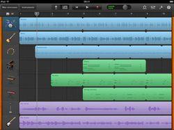 GarageBand pour iPad 02