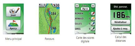 Garmin Approach G3 G5 carte