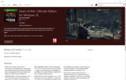 Gears of War Ultimate Edition - Windows Store