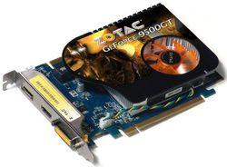 GeForce 9500 GT DP dessus
