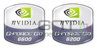 Geforce go 6200 6600 nvidia