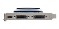 GeForce GTX 650 connectique