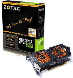 GeForce GTX 650 Zotac
