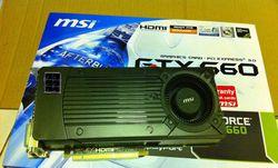 GeForce GTX 660.