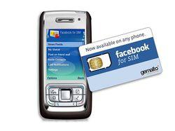Gemalto Facebook for SIM