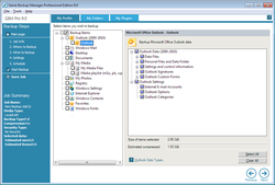 Genie Backup Manager Pro  screen1