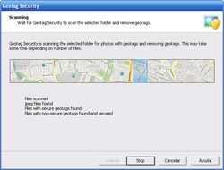 GeoTag Security screen1