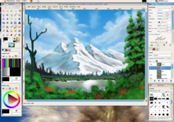 Gimp Paint Studio screen 2