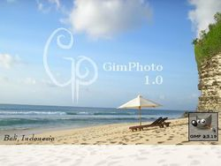 GimPhoto screen 1