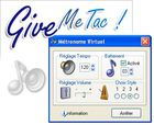 Give Me Tac : un métronome virtuel