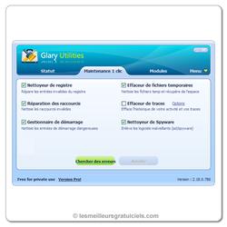 Glary Utilities screen1