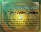 Glass Notepad : remplace le bloc-note par défaut de Windows