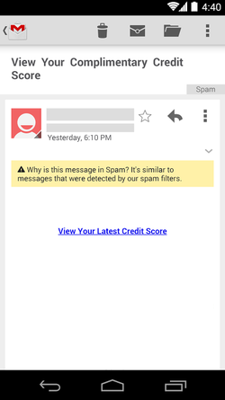 Gmail-Android-explication-spam
