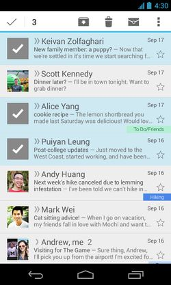 Gmail-Android-selection-multiple