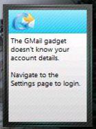 Gadget Gmail Checker