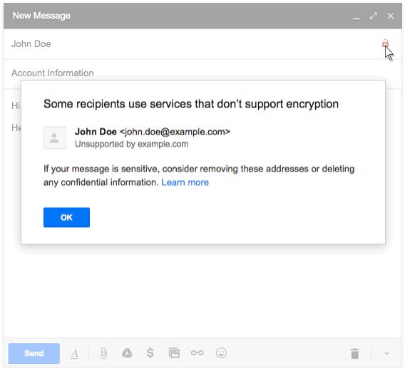 Gmail-message-perte-chiffrement