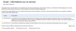 Gmail-panne
