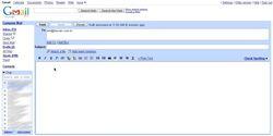 Gmailta screen