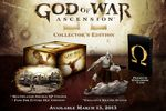 God of War Ascension - edition collector
