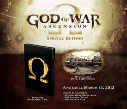 God of War Ascension - edition speciale