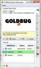 GoldBug Messenger : sécuriser ses échanges par messagerie