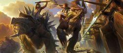 Golden axe beast rider image 1