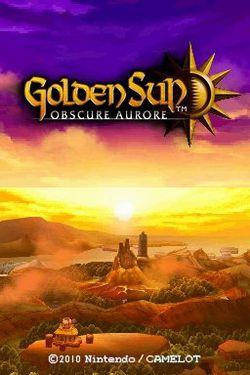 Golden Sun : Obscure Aurore - 1