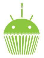 Google Android Cupcake logo