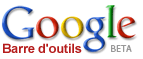 Google barre outils