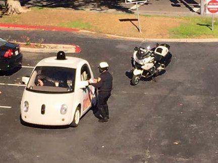 Google Car Police