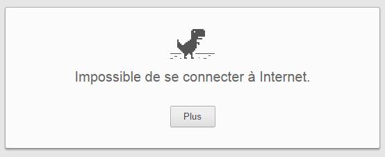 Pas d'internet
