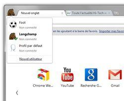 Google-Chrome-multi-utilisateur