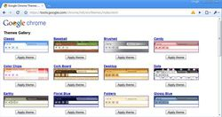 Google Chrome Themes Gallery