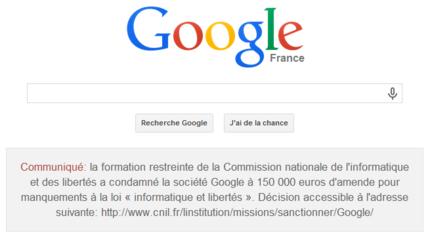 Google-CNIL-condamnation