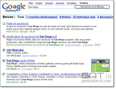 Google desktop search 408x314