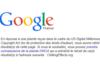 Google : le droit à l'oubli signalé comme la violation de droits d'auteur