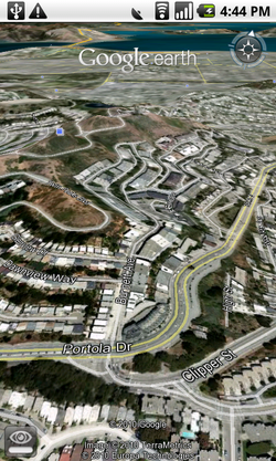 Google Earth Android 01