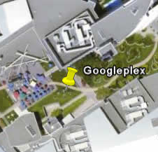 Google earth googleplex